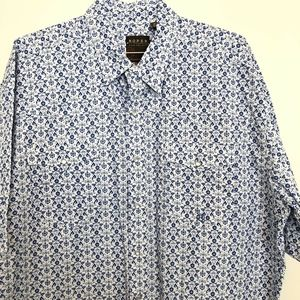 Roper Sh Sleeve Pearl Snap Button Up Western Shirt